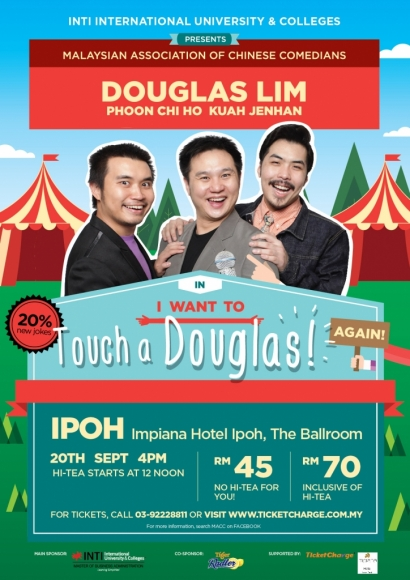 I Want To Touch A Douglas (Again!) in Ipoh