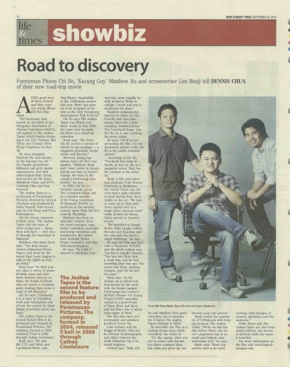 Road to discovery – The Sunday Times 2010